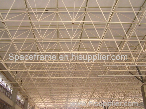 High quality low cost steel structure building space frame roofing system