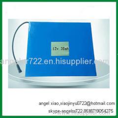 lithium ion battery 12v solar street light 30AH battery 12v 26ah exide battery