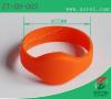 RFID oval silicone wristband