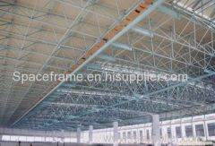 Steel space frame roofing steel structure roof system
