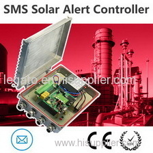 standalone weather sms alert controller sending weather alert.