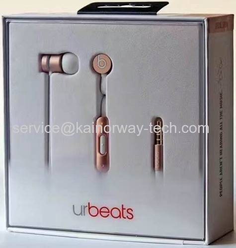 Newest Beats Urbeats3.0 Earphones by Dr.Dre Special Edition Rose Gold From China Supplier