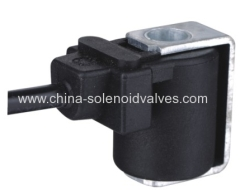 thermosetting solenoid coil for solenoid valve for pneumatic