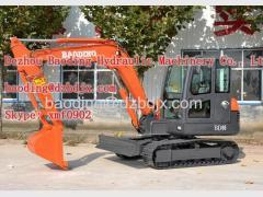 Factory supply new mini crawler excavator machine 0.21m3 bucket for sale