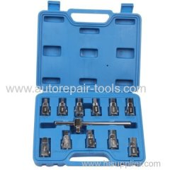 12pcs Oil Drain Sump Plug Key Socket Set