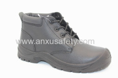 split emboss leather safety footwear safety boots