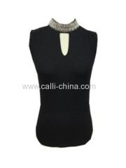 Women's High Collar Vest