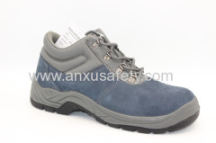 AX05030 suede leather and PU outsole safety boots