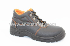 AX05031 split emboss leather safety boots