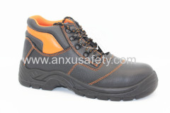 split emboss leather nd pu/pu outsole safety boots
