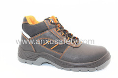 AX05039 split emboss leather safety boots
