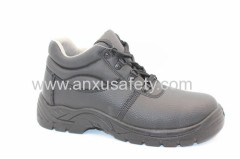 AX05040 split emboss leather safety shoes