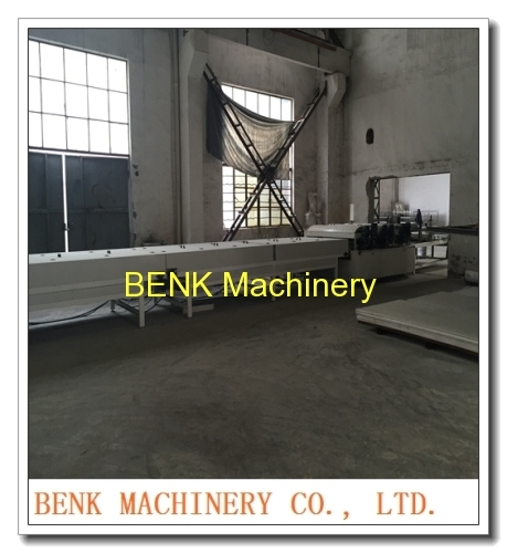 PVC imitation marble sheet machine manufacture