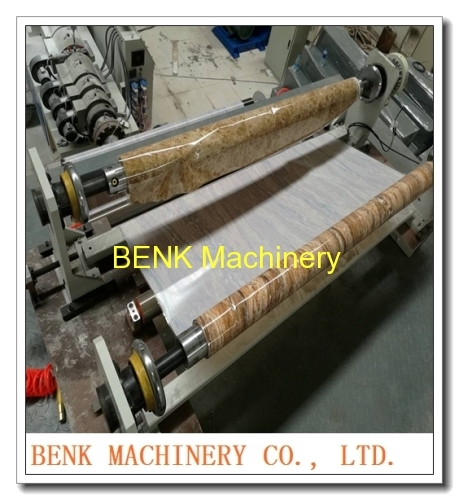 1220mm wide PVC sheet imitation marble machine