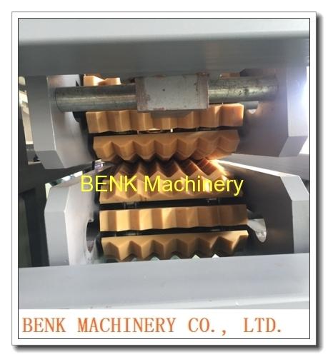 BENK Machinery China six cavities PVC corner profile extrusion machine manufacture
