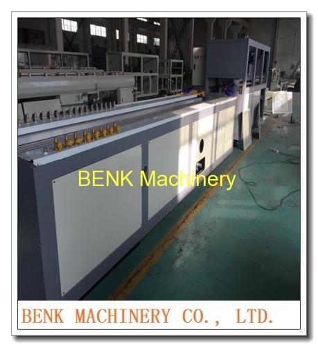 BENK Machinery China PVC six cavities angle profile extrusion machine manufacture
