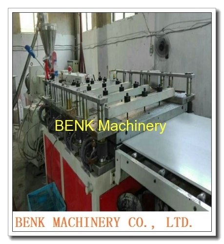 BENK machinery 1220mm wide construction board WPC co-extrusion board making Machine