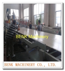 WPC PVC free foam board production line 50mm thickness