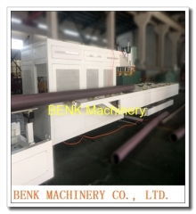 50-250mm automatische PVC waterleiding burlen machine