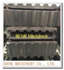 UPVC glasierte Dachziegel Blatt Extrusion Maschinen