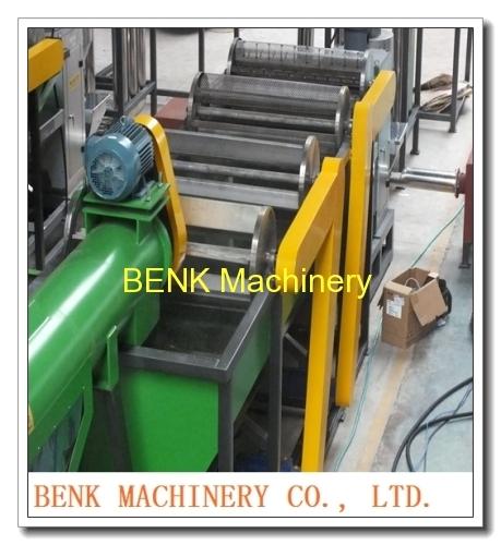 PE/PP bottle washing recycling machine