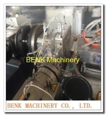 PE-WPC decking extrusion machine