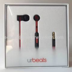 Beats urBeats In-Ear Buds Black Corded Earphone Headphones urBeats 3.0 With Mic And ControlTalk