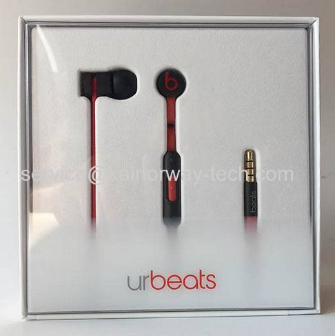 f9f3f112d54 Beats urBeats In-Ear Buds Black Corded Earphone Headphones urBeats 3.0 With  Mic And ControlTalk