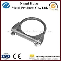 High Tension Steel Adjustable U Bolt Power Cable Clamp