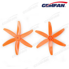 5x4 inch PC plastic model plane 5040 propeller with 6 blades ccw cw