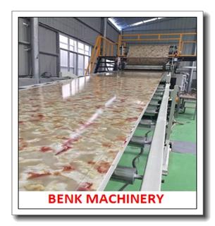 PVC imitación mármol Máquina