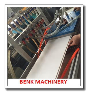 Perfil de PVC máquina de extrusión