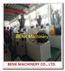 75-200mm PVC sewer pipe extrusion machine 200KG per hour output