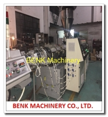 315-630mm pvc sewer plastic pipe extrusion machine process