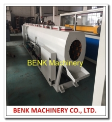 PVC Pipe Extruder Machine 50-160mm PVC Pipe Extrusion Line