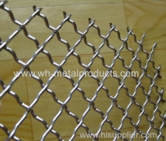 various crimped weaving styles tainless steel crimped wire mesh