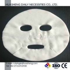 Spunlace fibra natural comprimido máscara facial