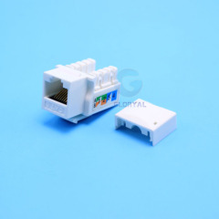 Hot cat 5e cat 6 rj45 8p8c keystone jack