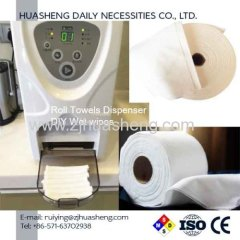 Dry Washcloths Roll Towels Dispenser