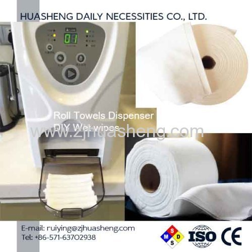 Roll Towels Dry Washcloths Dispenser