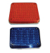 Amber Blue Red LED Big Grille Vehicle Square Warning Light For Vehicle