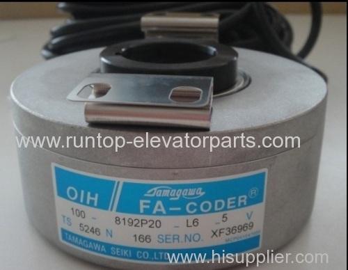 Hyundai elevator parts encoder TS5246N166 for Hyundai elevator