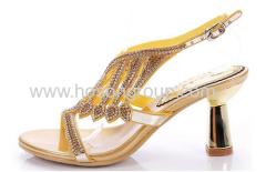 dames speciale hak strass sandalen