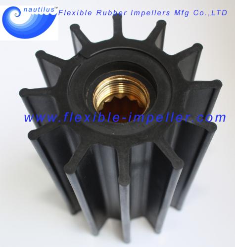 Water Pump Flexible Rubber Impellers for M A N Diesel Engine