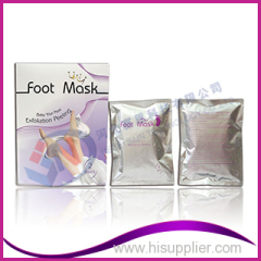 Proffesional factory skin peeling milk foot mask