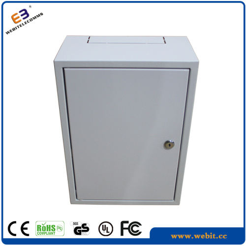 "10"" 8U slim wall mounted rack cabinet"