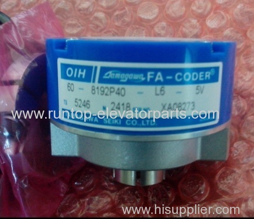 Hyundai elevator parts encoder TS5246N2418 for elevator
