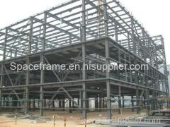 Cheap prefabricated light steel structure building factory