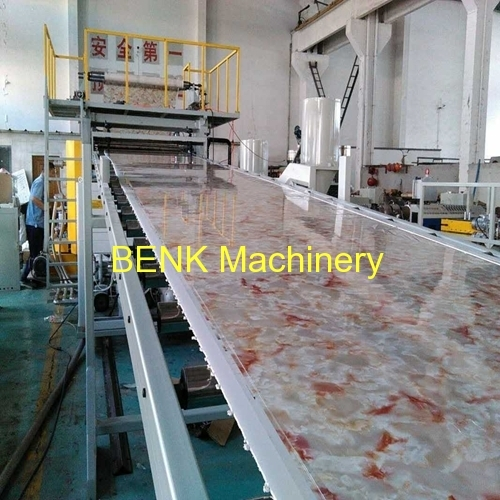 PVC imitation Marble Board extrusion line