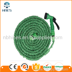 Solid brass fittings watering lawns expandable garden hose